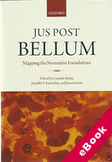 Cover of Jus Post Bellum: Mapping the Normative Foundations (eBook)