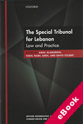 Cover of The Special Tribunal for Lebanon: Law and Practice (eBook)