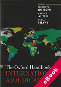 Cover of The Oxford Handbook of International Adjudication  (eBook)