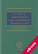 Cover of Set-Off in Arbitration and Commercial Transactions (eBook)
