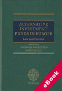 Cover of Alternative Investment Funds in Europe: Law and Practice (eBook)