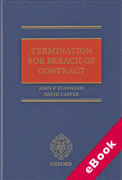 Cover of Termination for Breach of Contract (eBook)