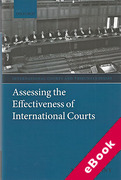 Cover of Assessing the Effectiveness of International Courts (eBook)