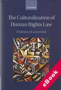 Cover of The Culturalization of Human Rights Law (eBook)