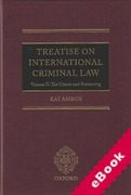 Cover of Treatise on International Criminal Law Volume II: Crimes and Sentencing (eBook)