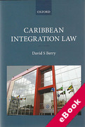 Cover of Caribbean Integration Law (eBook)