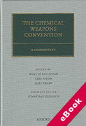Cover of The Chemical Weapons Convention: A Commentary (eBook)