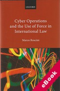Cover of Cyber Operations and the Use of Force in International Law (eBook)