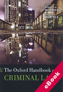 Cover of The Oxford Handbook of Criminal Law (eBook)