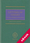 Cover of Letters of Credit: Law and Practice of Compliance (eBook)