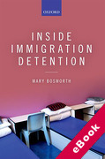Cover of Inside Immigration Detention (eBook)