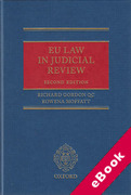 Cover of EU Law in Judicial Review (eBook)