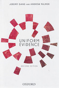 Cover of Uniform Evidence