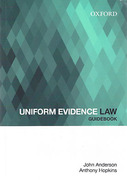Cover of Uniform Evidence Law Guidebook