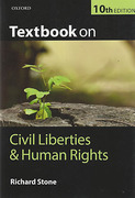 Cover of Textbook on Civil Liberties and Human Rights