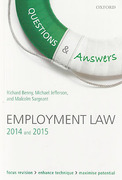 Cover of Questions & Answers: Employment Law 2014 and 2015