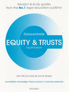 Cover of Concentrate: Equity and Trusts