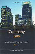 Cover of Core Text: Company Law