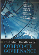 Cover of The Oxford Handbook of Corporate Governance