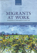 Cover of Migrants at Work: Immigration and Vulnerability in Labour Law