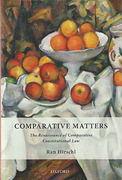 Cover of Comparative Matters: The Renaissance of Comparative Constitutional Law