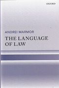 Cover of The Language of Law