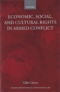 Cover of Economic, Social, and Cultural Rights in Armed Conflict
