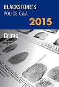 Cover of Blackstone's Police Q&A 2015: Crime