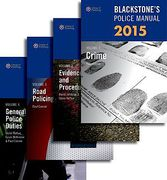 Cover of Blackstone's Police Manuals 2015: Four Volume Set