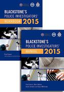 Cover of Bundled Set: Blackstone's Police Investigators Manual and Investigators Workbook 2015
