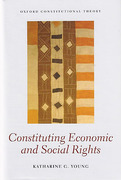 Cover of Constituting Economic and Social Rights