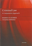 Cover of Criminal Law: A Comparative Approach