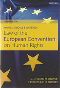 Cover of Harris, O'Boyle & Warbrick: Law of the European Convention on Human Rights