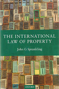 Cover of The International Law of Property