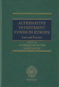Cover of Alternative Investment Funds in Europe: Law and Practice