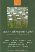 Cover of Intellectual Property Rights: Legal and Economic Challenges for Development