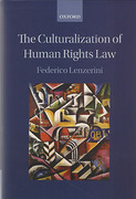 Cover of The Culturalization of Human Rights Law