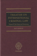 Cover of Treatise on International Criminal Law Volume II: Crimes and Sentencing