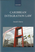 Cover of Caribbean Integration Law