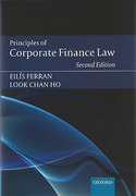 Cover of Principles of Corporate Finance Law