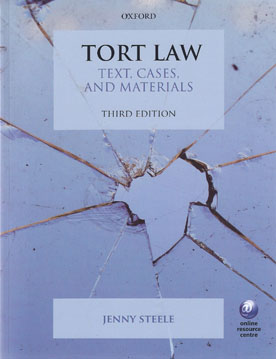 New Book Rethinks Tort Law