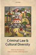 Cover of Criminal Law and Cultural Diversity