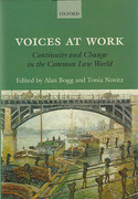 Cover of Voices at Work: Continuity and Change in the Common Law World