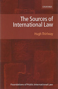 Cover of The Sources of International Law