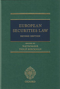 Cover of European Securities Law