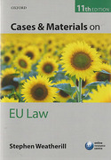 Cover of Cases and Materials on EU Law