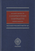 Cover of Wilmot-Smith on Construction Contracts
