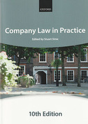 Cover of Company Law in Practice