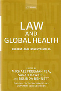 Cover of Current Legal Issues Volume 16: Law and Global Health
