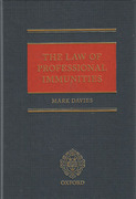 Cover of The Law of Professional Immunities
